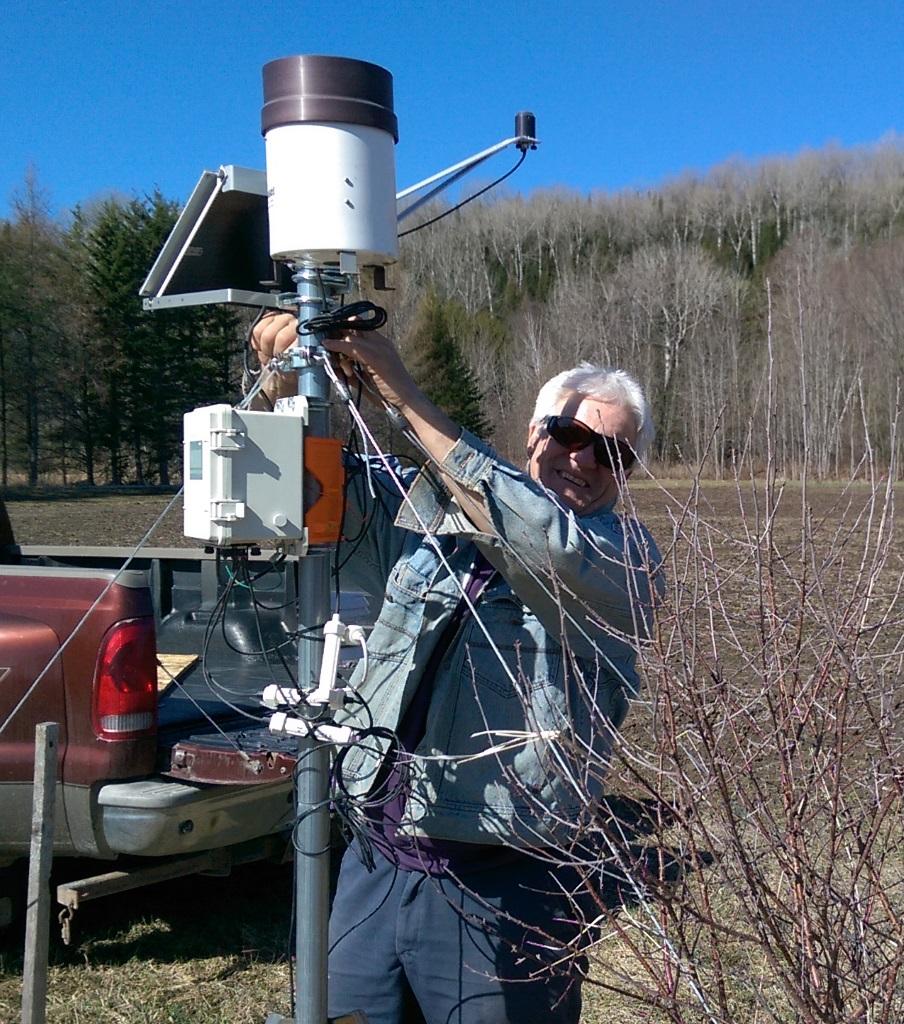 Nordvie station météo fermier geek