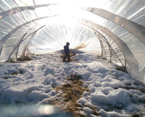 Nordvie exploration tunnel